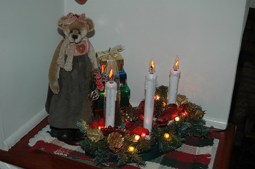 Hall Entryway at Christmas