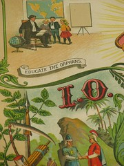 educate the orphan (fiddlejean) Tags: old art club nebraska omaha benson fraternal organization ioof 1896 lodge221