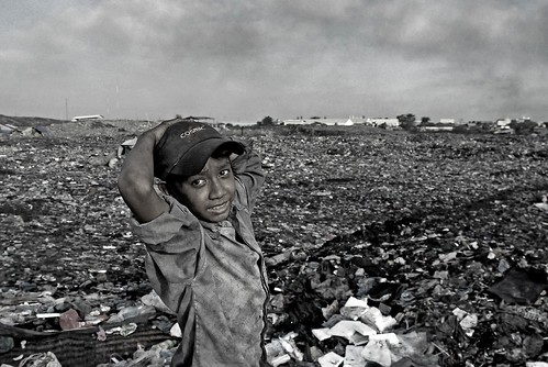 Ragpicker Boy, Cambodia