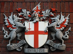 Coat of arms of the City of London (jbparker) Tags: uk england london lenstagged heraldry coatofarms arms unitedkingdom cityoflondon canon1785f456