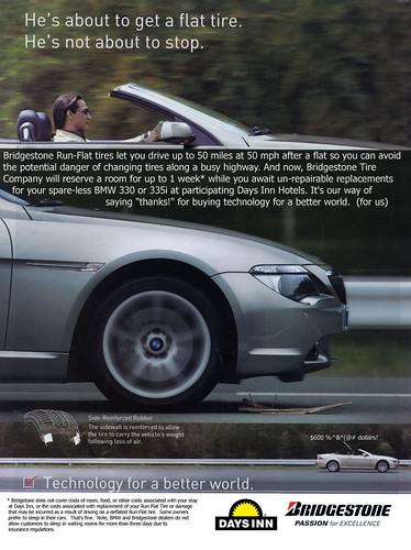 Run Flat Tires - Bridgestone Parody Ad