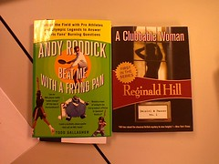 """Andy Roddick Beat Me With A Frying Pan"" and ""A Clubbable Woman"""