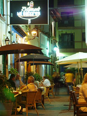 Restaurant district, Puerto de la Cruz