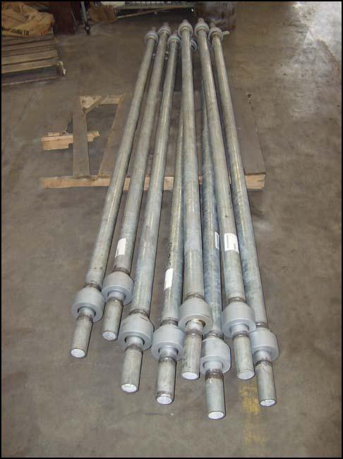 "Ball-Joint Sway Strut Assemblies (20,000 lb. load, 96"" long)"