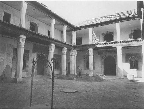 Palacio de Fuensalida en la restauración de finales del siglo XX. Foto Rodríguez