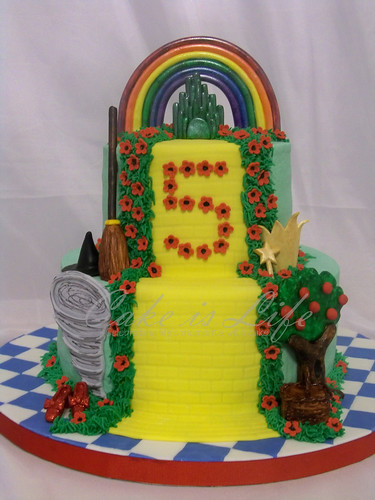 Wizard of Oz Cake Revisited