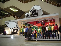 Eco-Friendly Retail Display Soccer Balls
