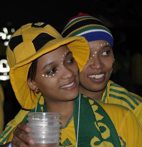 Fan Fest - South Africa v France