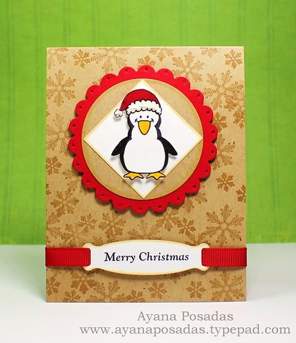 Penguin Merry Christmas