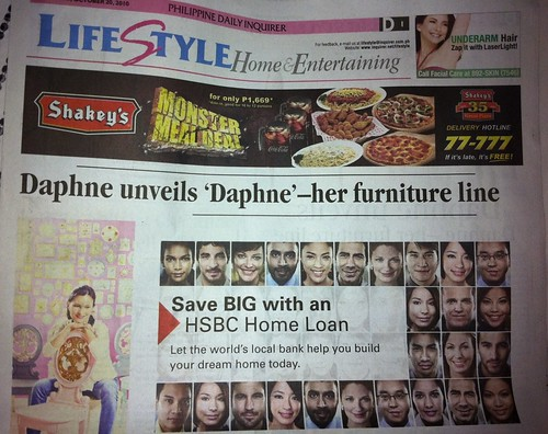 Front page, Inquirer Lifestyle
