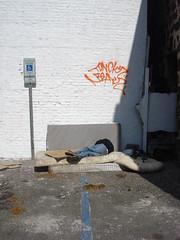 Honolulu Graffiti, 2010 (HiZmiester) Tags: sleeping graffiti hawaii hp chinatown homeless beak bum bums honolulu mok tonk tagging hobo junkie grimey crackhead tonck b3ak5 bummatress