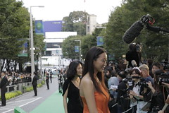 Green Ambassador Anne and Film Fest Ambassador Yoshino Kimura