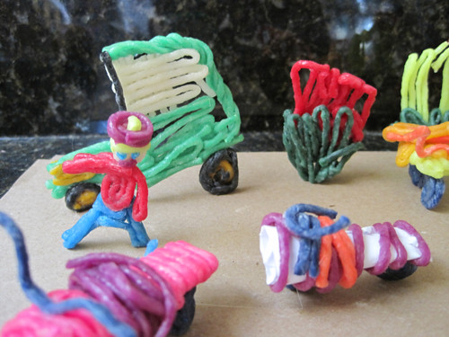 Wikkistix Tractor and equp