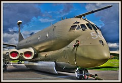 XV250/50  NIMROD IN HDR AT YORKSHIRE AIR MUSEUM (MANX NORTON) Tags: r1 boeing usaf raf nato sentinel sentry nimrod awacs e3b e3a