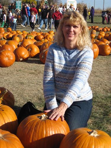 Me in the Pumpkin Patch