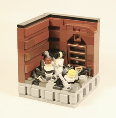 Star Wars Micro Scale Trash Compator (MacLane) Tags: starwars