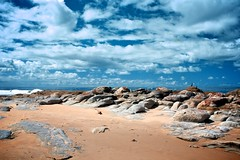Croajingalong National Park 14 (danielschuurman) Tags: ocean travel summer ny seascape beach nature clouds canon coast nationalpark sand rocks daniel australia victoria wilderness gippsland schuurman cloudformations croajingalong wildgrasses canon450d