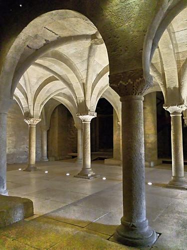 Tribune monastique - Eglise abbatiale de Cruas - Ardéche
