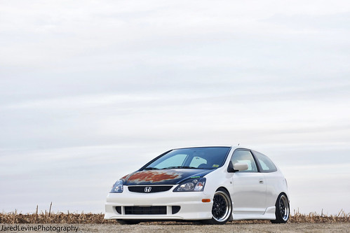 Stanced Civic SI Shoot