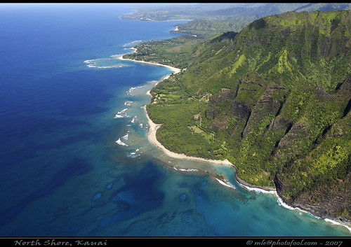 Kauai North Shore Aerial