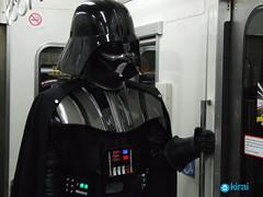 Vader commuting (kirainet) Tags: tokyo starwars darth vader darthvader dannychoo