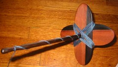 Turkish Spindle wind-on, top view