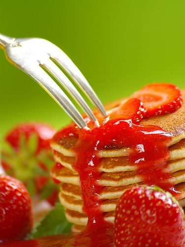 Pancakes with Strawberries (3/3) (by Thorsten (TK))