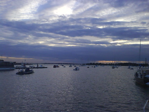 Sunset at Itchenor Reach, Chichester Harbour