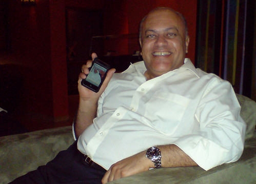 Mahmood and the iPhone!