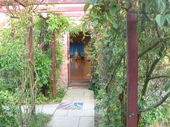 Taraloka shrine entrance