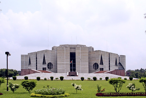 Parliament house, Dhaka, Bangladesh by Spiritual affection.