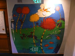 Lorax painting (Keenan Pepper) Tags: painting drseuss caltech lorax