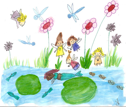 fairies and mermaid
