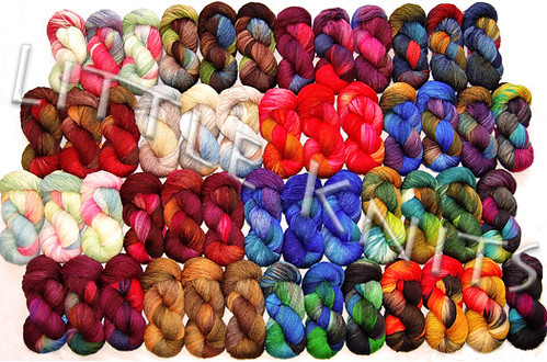 Fleece Artist Nova Sock at Little Knits