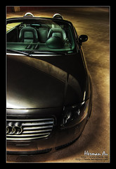 Black Audi TT Convertable (Herman Au - http://www.hermanau.com) Tags: auto black car speed high automobile european ride dynamic angle wide performance tokina turbo vehicle tt audi range coupe hdr roadster hermanauphotography
