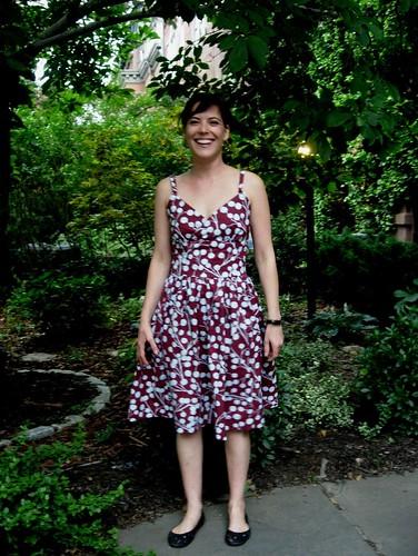 Sarah's dress