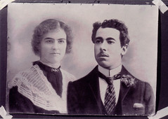 Ethel and Robert Arthur Holmes (Miss Chicken) Tags: family portrait genealogy holmes robertholmes ethelholmes