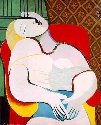 O sonho - Pablo Picasso