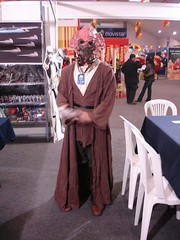 Plo Koon cosplayer in Lima, Peru