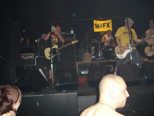 NOFX. Live in Port Club, St. Petersburg, Russia (28.08.2007)