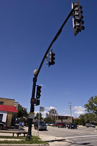 Wide angle Traffice Light