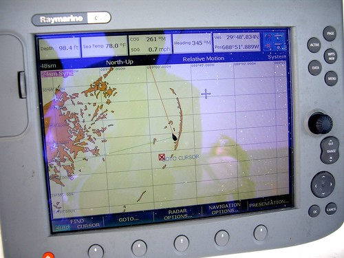 GPS off Chandeleur islands