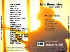 Arte de tapa atras para JH (Arteindi studios) Tags: cd diseño artedetapa