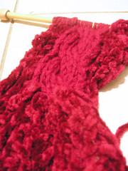 Virginia's scarf...