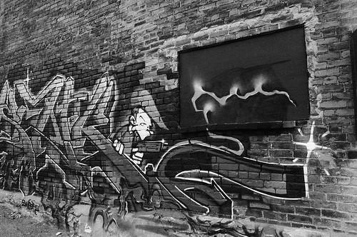 graffiti, vieux port