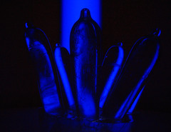 20101009 1657 - Museum Of Sex - glass dildos in blue - IMG_2270