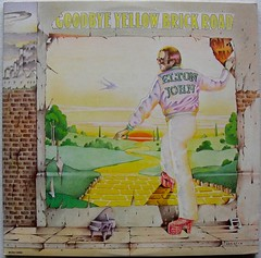 ELTON JOHN 1973 Goodbye Yellowbrick Road LP record album vintage vinyl A (Christian Montone) Tags: music vintage design graphics graphic album vinyl eltonjohn lp record 1970s sleeve vintagerecords
