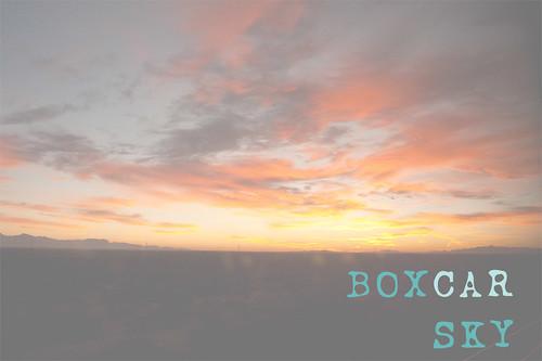 boxcar sky by (grammar shy)