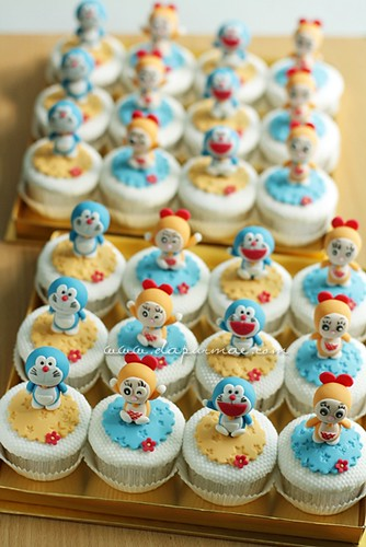 Doraemon Cupcake Sets