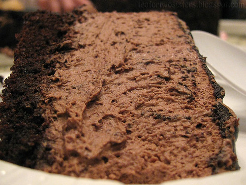Chocolate Mousse Cake 3
